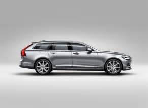 Volvo V90 2016 2016 Volvo V90 Station Wagon Revealed In Sweden