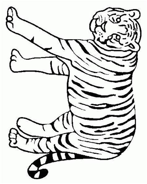 tiger coloring pages coloringpages1001 com
