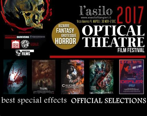 best special effects the optical festival 2017 quot best special effects