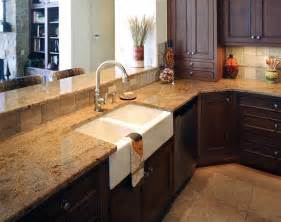 golden sun granite installed design photos and reviews