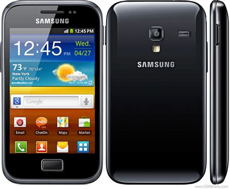 Samsung Ace Plus S7500 512mb White Samsung Galaxy Ace Plus S7500 Samsung