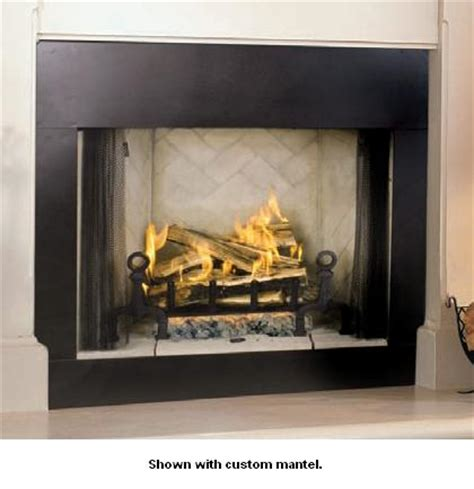 vantage hearth premium line series 36 inch smooth faced