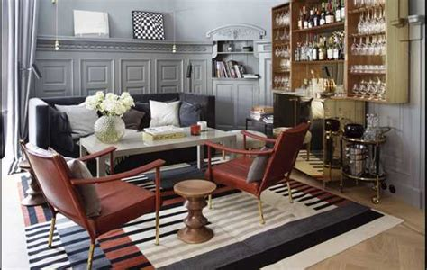 subtle interior decorating ideas in chic vintage style