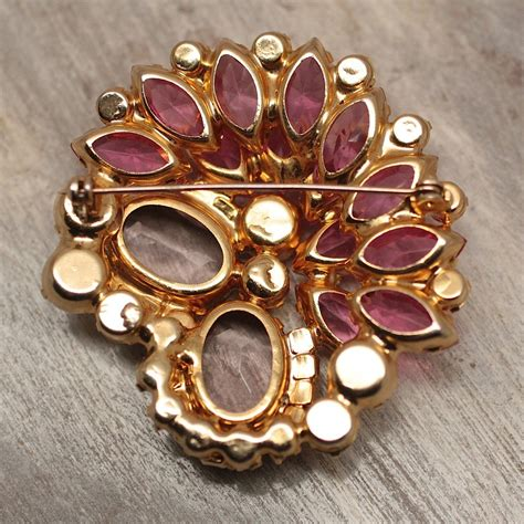 Pippin Vintage Jewelry by Circa 1960 Delizza Elster Quot Juliana Quot Rhinestone Brooch