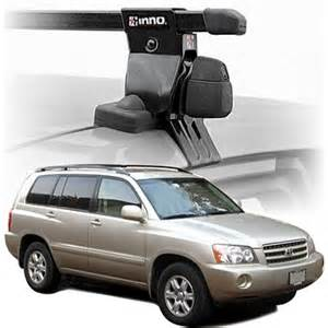 Toyota Highlander Roof Rack Toyota Highlander Roof Racks