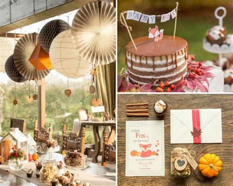 Ideas For Fall Baby Shower fox fall baby shower baby shower ideas themes