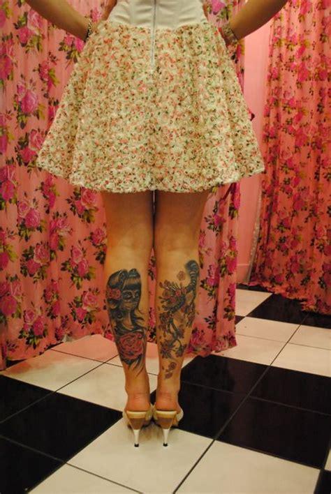 Handuk Mandi Hello Bat 037 rockabilly tattoos back of lower leg silly boys tattoos r for