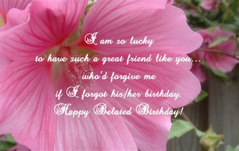 Belated Wishes  Free Happy Birthday eCards, Greeting