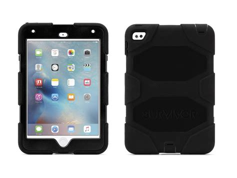 Mini 2 3 Griffin Heavy Duty Waterproof Casing Cover Bumper griffin mini 4 with stand black survivor all