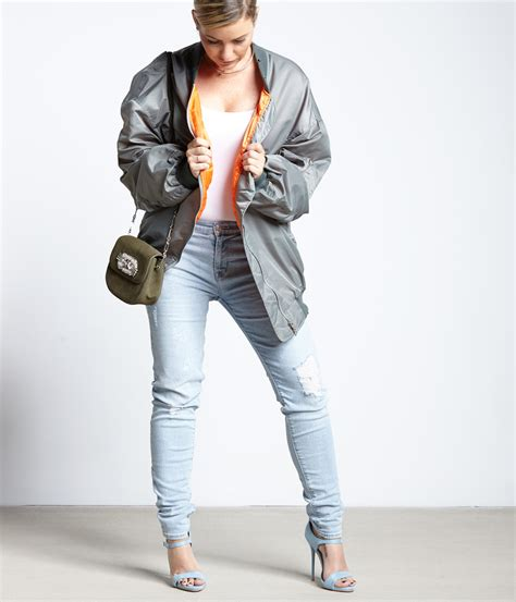 Susan Susanka statement oversize bomberjacke fashionzone