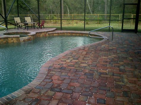 pool deck pavers pool patio pavers orlando pool pavers at paverweb com