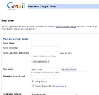cara membuat akun google dan kata sandi 1 cara membuat akun google