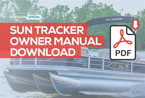 sun tracker pontoon boat owner s manual download latest - Tracker Boats Owners Manual