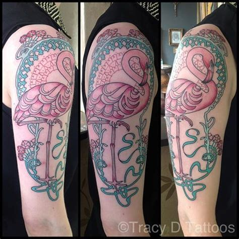 tracy tattoo designs tracy d flamingo bird smaller maybe