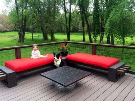 cinder block furniture backyard 25 best ideas about cinder block furniture on