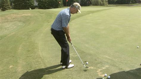 larry mize golf swing golf pitching tips drills golf channel
