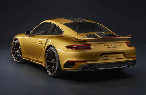 Porsche Turbo Hp by 607 Hp 2018 Porsche 911 Turbo S Exclusive Series Revealed