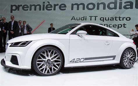 Audi Tt 2015 Preis by 2015 Audi Tt Quattro Sport Price And Spec 2018 Car