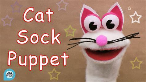 sock puppets crafts cat sock puppet diy crafts