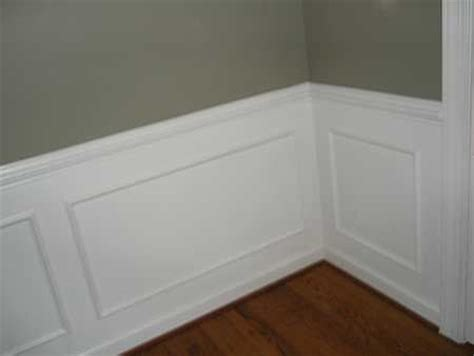 Cheap Wainscoting Ideas Wainscot Wall Paneling Molding Ideas
