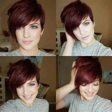 funky super short haircuts for heavy set women 11 cute short funky hairstyles for women 2017 page 2 of