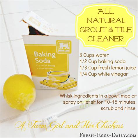 bathroom grout cleaner diy all natural tile and grout cleaner