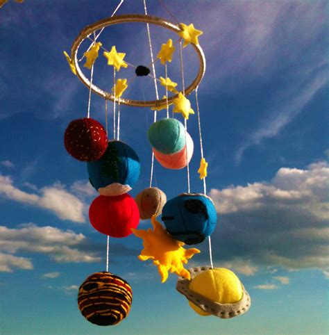 Solar System Crib Mobile by Solar System Baby Mobile