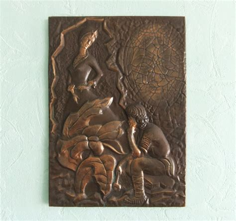 copper wall art home decor vintage decorative picture copper wall decor wall by