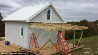 shed roof framing plan how to build tin can cabin valine