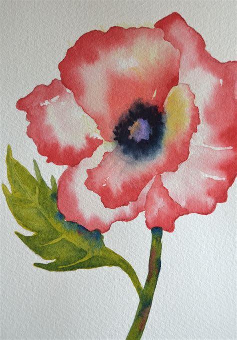 easy watercolor paintings flowers newhairstylesformen2014