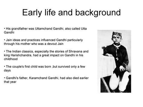 Mahatma Gandhi Early Life And Background | gandhi