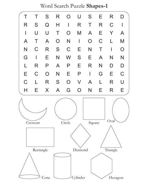 printable shapes word word search puzzle shapes 1 download free word search
