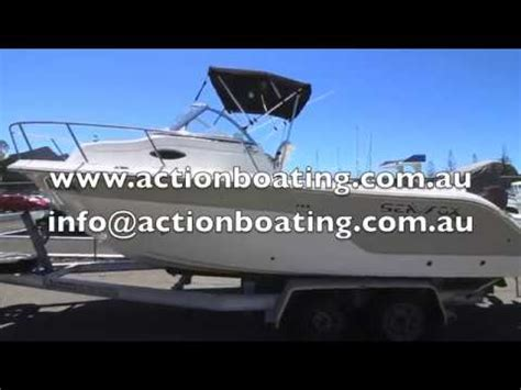 boat trailers for sale gold coast qld sea fox 216 walkaround with trailer for sale action