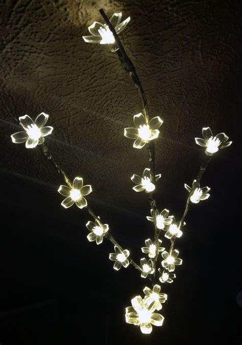 decorative branches with led lights ledhut s led indoor decorative branch light review a