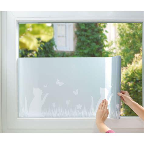 Fenster Sichtschutz by Fenster Sichtschutz Folie Quot Katze Quot