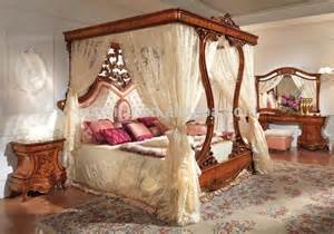 Italian Canopy Bedroom Furniture Italian Royal Wooden Bedroom Furniture Luxury Upholstered