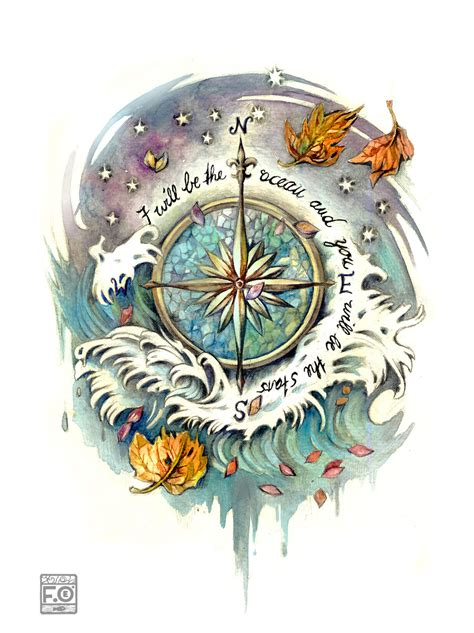 compass rose tattoos compass tattoos