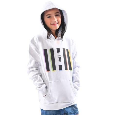 Jaket Hoodie Juventus Logo Sweater Bola juventus white logo hoodie juventus official store