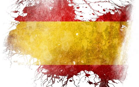 colors of spain flag of spain hd wallpaper and background image