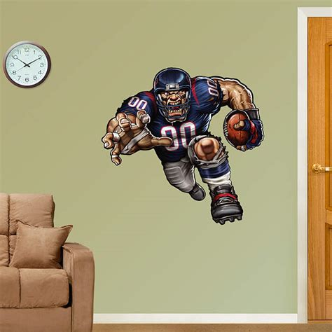 Texans Wall Decor by Tenacious Texan Fathead Wall Decal