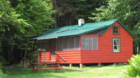 Cricket Cabins by Wilderness Lakeside Log Cabinquotoff The Gridquot 12