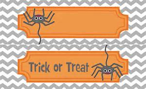 Printable Jar Labels Halloween Treat Labels Festival Collections