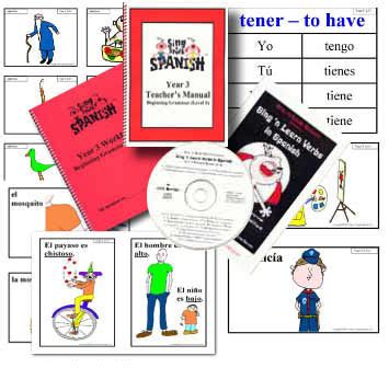 swing swang swung grammar spanish teaching materials sing n speak spanish