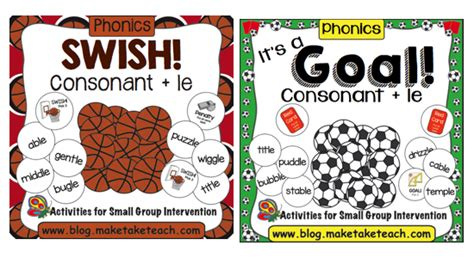 Spelling Pattern Le Games | teaching the consonant le syllable pattern make take
