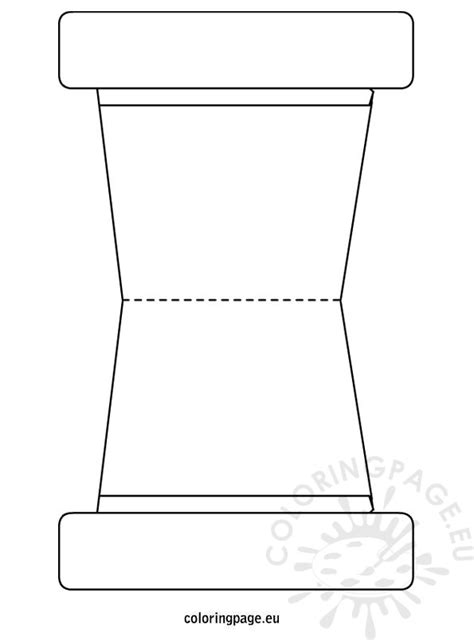 coloring page of a flower pot free coloring pages of flower pot template