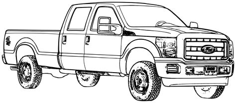 trucks coloring pages ford truck coloring pages 01 coloring pages