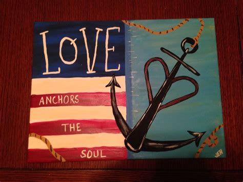 Best Love Anchors The Soul - 17 best images about canvas oil pastels on pinterest