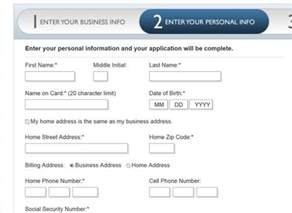 applying for a business credit card american express business card application million mile