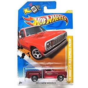 Wheels Lil Express Truck 2012 Wheels New Models 1978 Dodge Li L