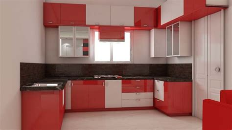 simple kitchen interior design  bhk house